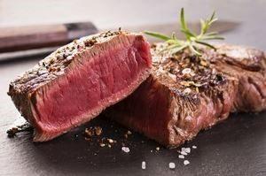 carne de res para la testosterona