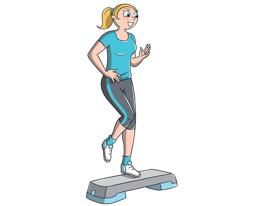 entrenamiento escalonado: ejercicio cardiovascular