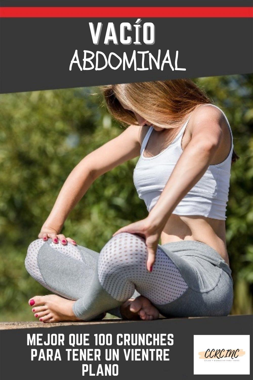 vacío abdominal: que es y como hacerlo correctamente